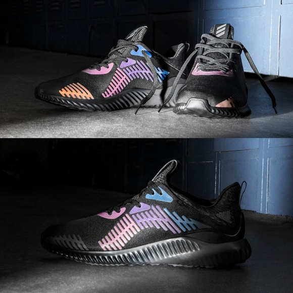 promo code 4f81c 403b5 adidas Shoes - Adidas AlphaBounce Xeno Triple Black Sneakers